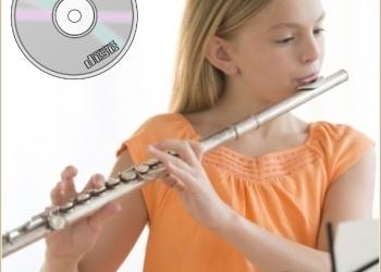 Для занятий на флейте - ноты популярных мелодий с фонограммами
