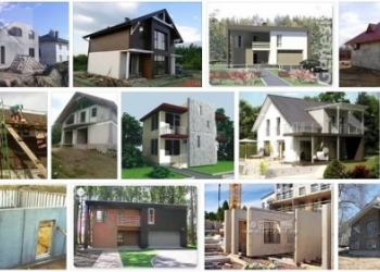 Готовые здания из железобетонных изделий с доставкой и монтажом, коттедж или дом