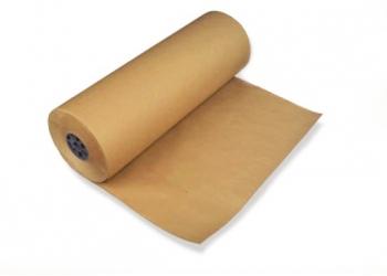 Бумага упаковочная, оберточная, рулон 9м
