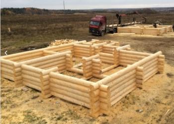 Сруб для деревянного дома, ручная рубка