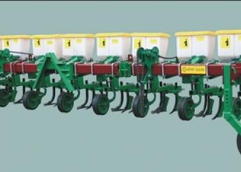 Культиватор междурядной обработки и подкормки посевов