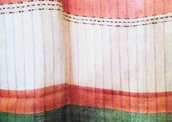 Льняные шторы из 2-х предметов.