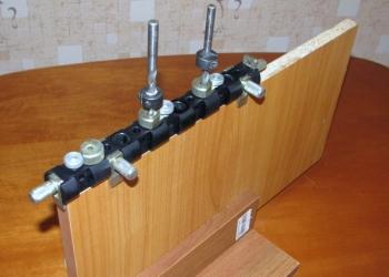 Мебельный кондуктор «CONDOR-MD232» для сверления отверстий и изготовления мебели