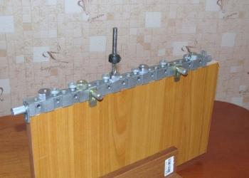 Мебельный кондуктор «CONDOR-MT424» для сверления отверстий и изготовления мебели