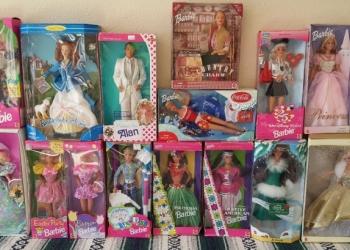Барби из США, новые из коробок не доставались