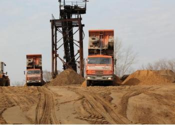 песок строительный,речной