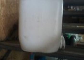 Летний душ 50 л из пластиковой бочки с электро подогревом
