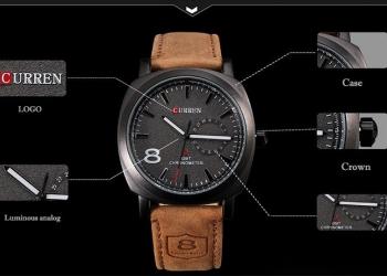 Часы CUREN 8139 AAA