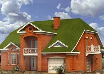 Кирпичный дом 12х14. Площадью: 189,2 м2