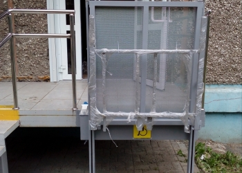 """Вертикальный подъемник для инвалидов, """"ПТУ 001"""""""