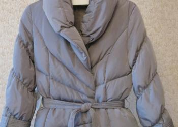 Продам женский пуховик/куртку стального цвета французского бренда Lo