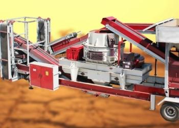 Мобильная вертикальная дробилка вала GNR-MVSI 900