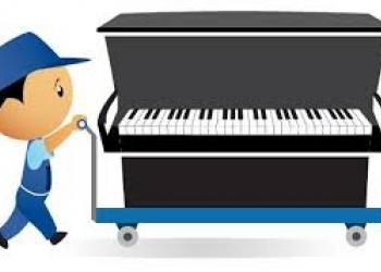 Перевозка пианино на высшем уровне.