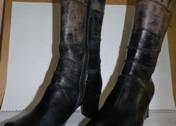 Новые, зимние, итальянские сапоги FABI размер 38