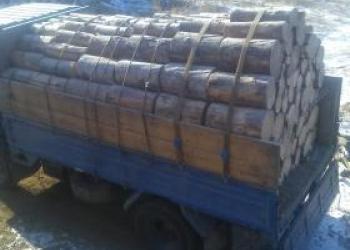 Дрова сухие доставка сосна лествяк береза чурками колотые