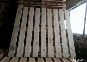 Поддоны деревянные 1,20*1,10