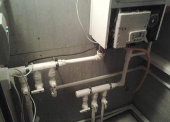 Монтаж отопления .водоснабжения .канализации