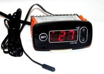 Терморегулятор цифровой СТЕ-102  для  омшаников, погребов, теплиц…