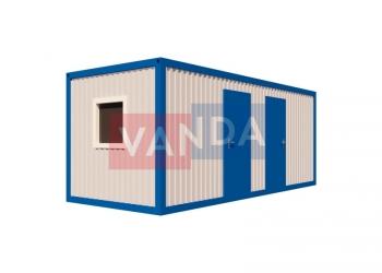 Офисный блок-контейнер двухкомнатный