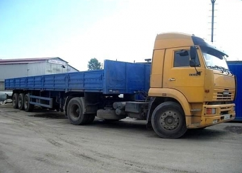 Длинномер (шаланда) 13,6 м г/п 20 тн перевозки