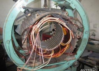 •Капитальный ремонт электродвигателей от 0,18 до 315,0 кВт различных модификаци