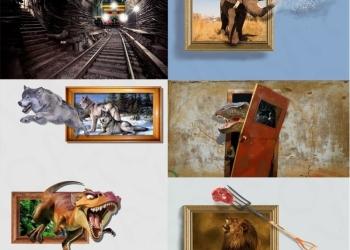 Уникальная выставка 3D-картин.