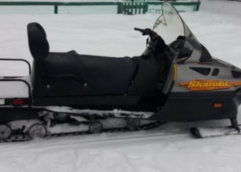 Bombardier ski-doo skandic 500 wt lc