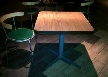 Столы квадратные 70*70 см, 10 штук