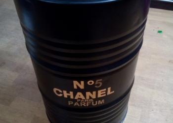 """Бочки железные дизайнерские 200 л """"Chanel№5"""""""