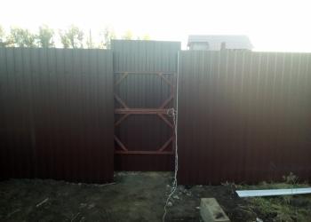 Заборы, ворота. Бурение ям под столбики