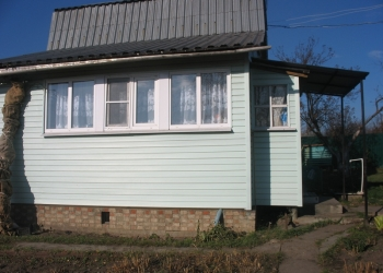 Садовый участок 12 соток с хорошим домом