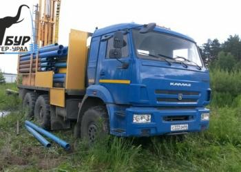 Бурение скважин на воду в Свердловской области.