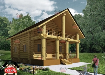 Дома и бани ручной рубки из кедра, сосны, лиственницы