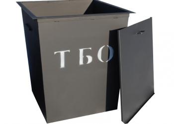 Продам металлический контейнер для мусора (ТБО)