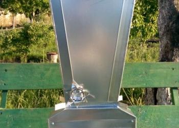 Памятники и надгробия из оцинковки (листовая сталь)
