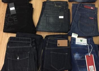 Сортированные джинсы фирменные мужские