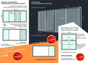 Тёплые раздвижные окна для балкона и лоджии SLIDORS