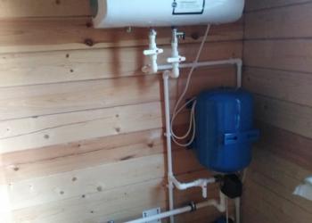 Отопление, водоснабжение, канализация  расчет, монтаж, запуск!