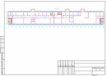 Оцифровка чертежей, планов БТИ, выполнение чертежей в AutoCAD