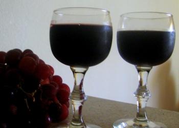 Вино домашнее из винограда.