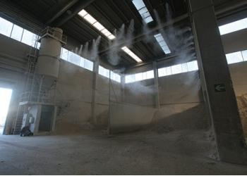 Системы пылеподавления для производственных участков, открытых карьеров и т.д.