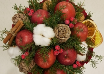 Букет из фруктов, подарок