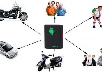 Мини GSM-трекер маяк A8 определение координат