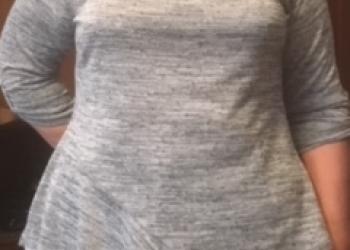 Блузка  асимметрия