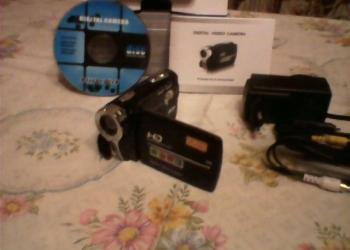 Продаю видеокамеру DVC HD Sony 12 megapixel.Цена 2000 руб.