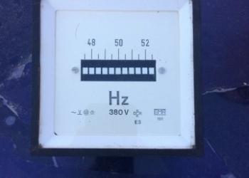 Прибор Частотометр 48-50-52 EMR 380 v