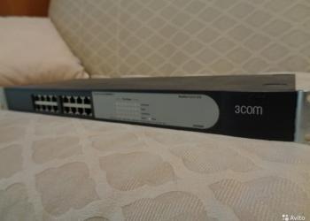 Коммутатор 3com 3c16470b-me baseline switch 2016