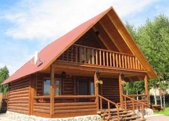 Деревянные срубы домов (олш1236)
