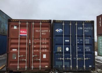 Аренда 20-ти футового морского контейнера в Тюмени, доставка
