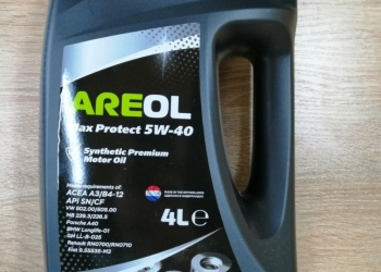 Масло моторное Areol 5w40